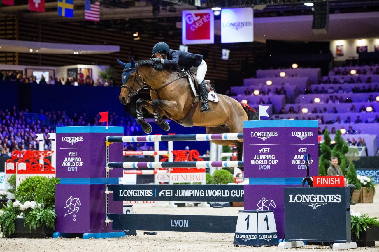 Longines FEI Jumping World CupTM. Equita Lyon 2019. © FEI / Eric KNOLLr
