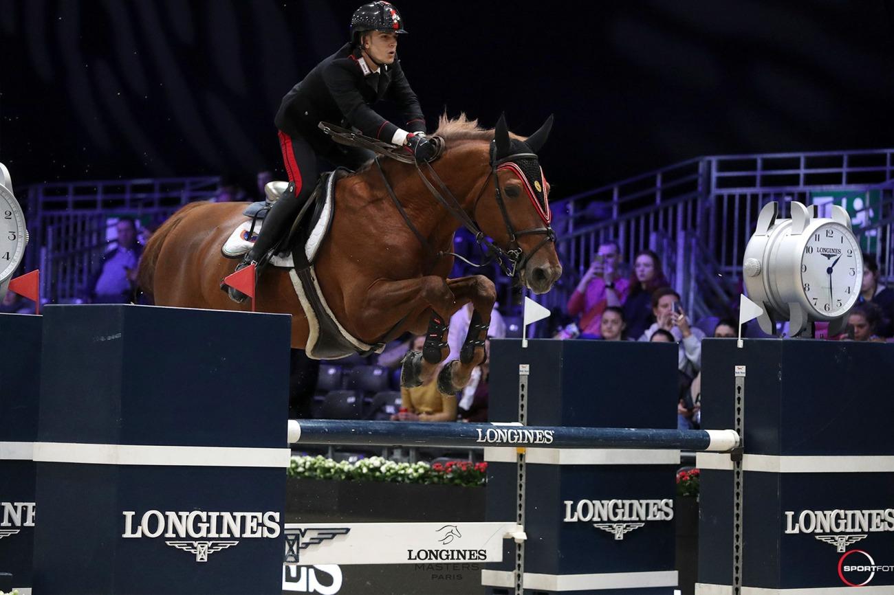 2019.12.05.99.99 Longines Masters Paris CSI 5 Hubside Filippo M. Bologni & Diplomat Sportfot