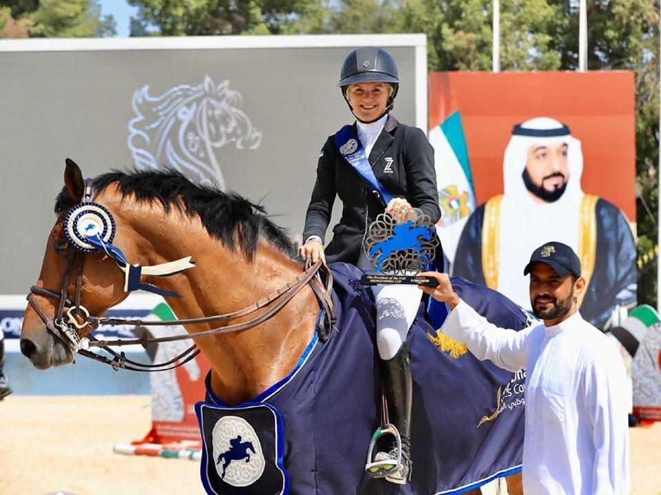2020.02.28.99.99 Abu Dhabi CSIO 5 Sports Council Cel Georgia Tame & Evita ELS