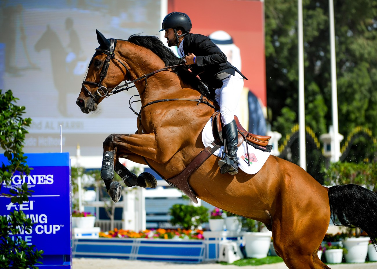 2020.03.01.99.99 Abu Dhabi CSIO 5 FEI NC Abullah Mohd Al Marri & James vd Oude Heihoef FEI Helen Cruden