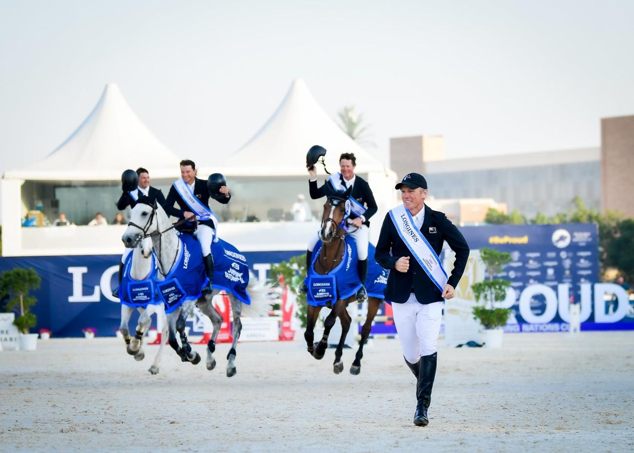 2020.03.01.99.99 Abu Dhabi CSIO 5 FEI NC Team New Zealand FEI Helen Cruden
