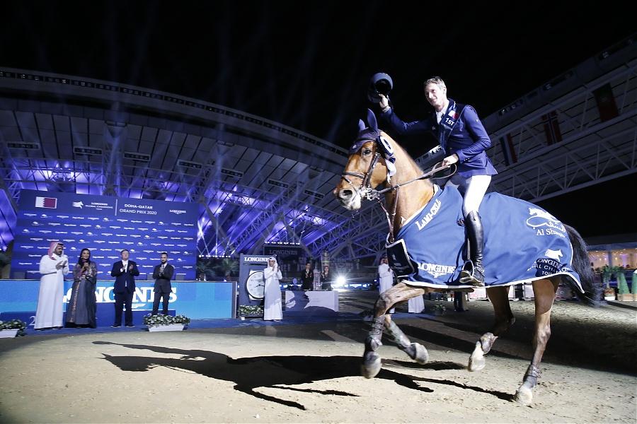 2020.03.08.99.99 LGCT Doha CSI 5 GP Daniel Deusser & Kiana vh Herdershof SG