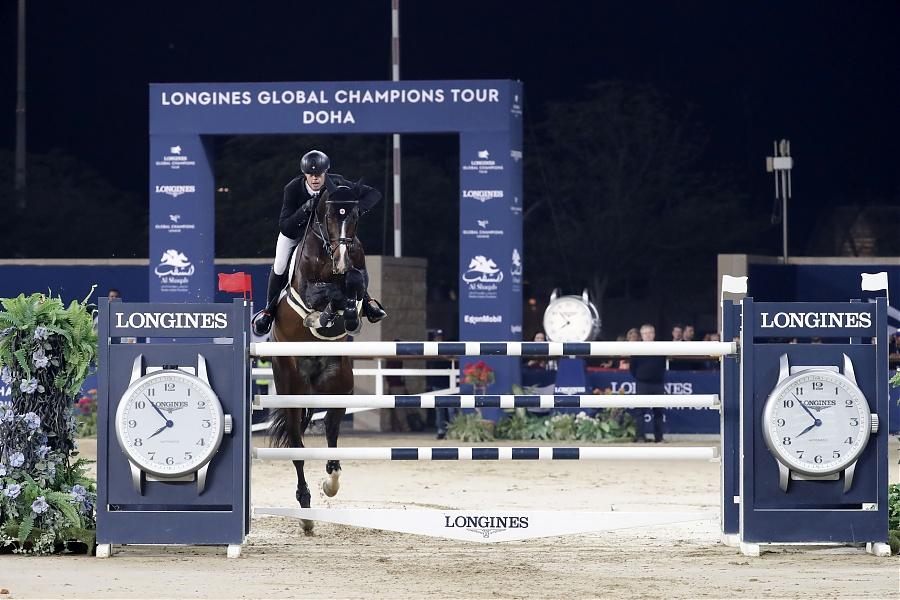 2020.03.08.99.99 LGCT Doha CSI 5 GP Jerome Guery & Quel Homme de Hus SG