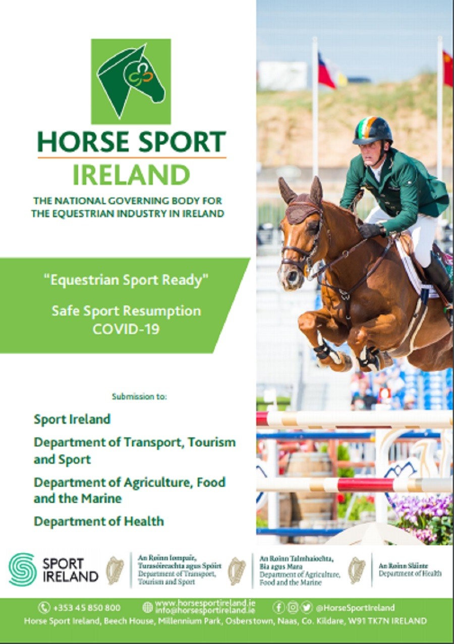 2020.05.12.99.99 Horse Sport Ireland Submits Proposal for Sport to Resume