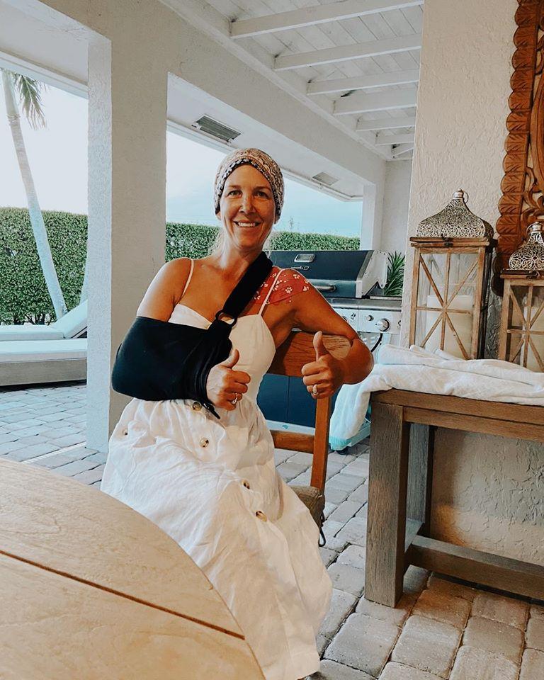 2020.06.06.99.99 News Lauren Hough Recovering from Shoulder Surgery Lauren Hough