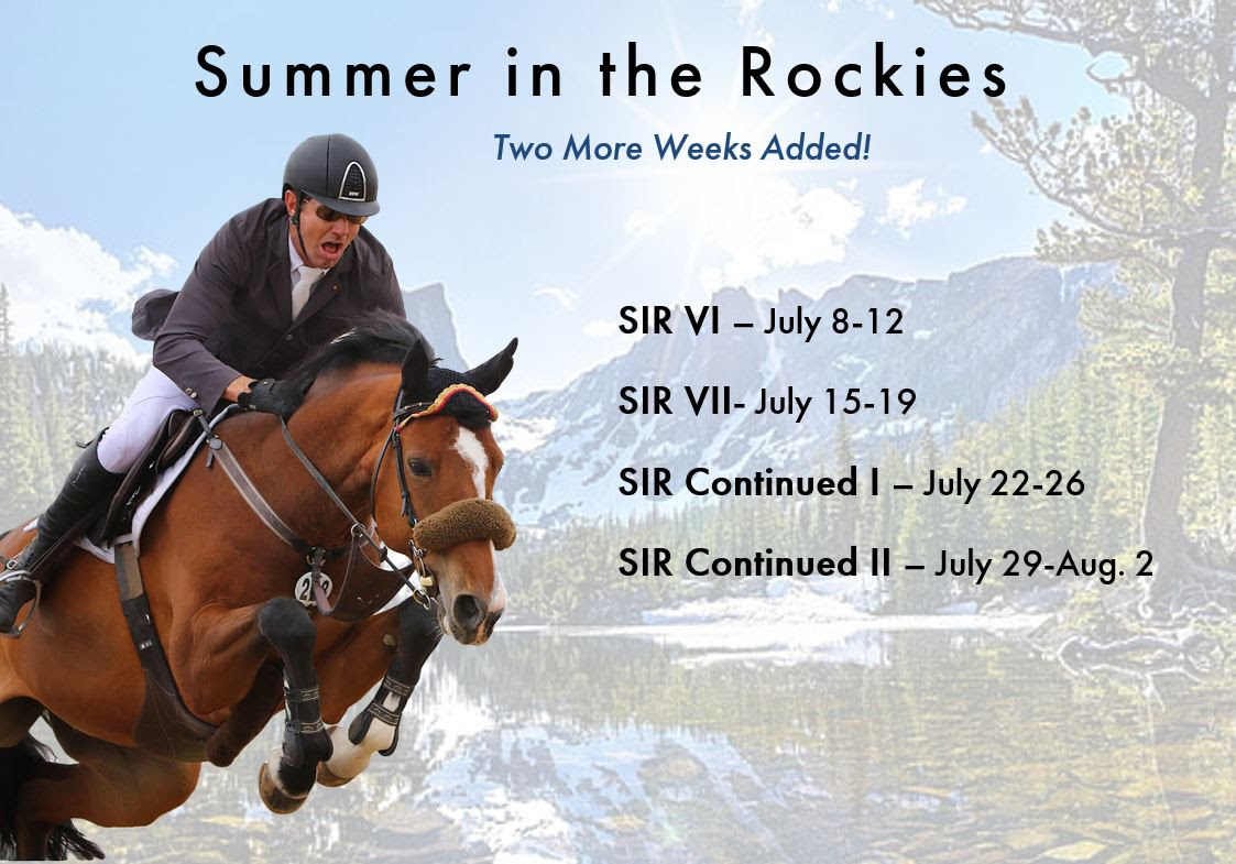 2020.06.20.99.99 Events Two More Weeks Added to Summer in the Rockies Series