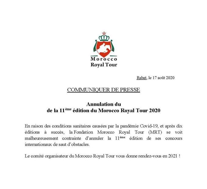 2020.08.17.99.99 Events 2020 MRT Cancelled Communique