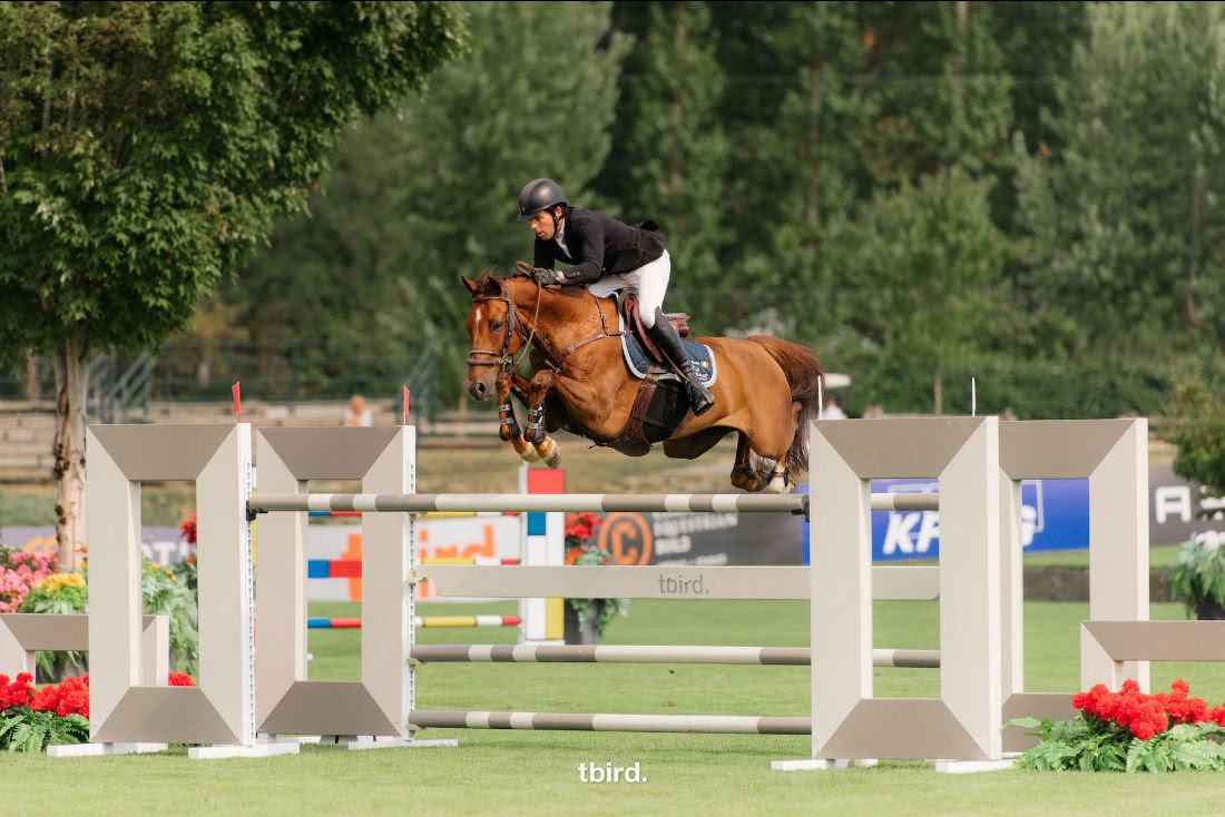 Conor Swail Soars to a One-two Finish in $37,000 George & Dianne Tidball Legacy CSI 3* at Thunderbird