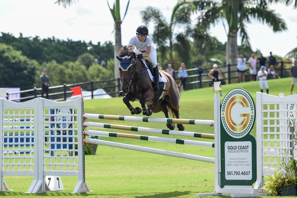 Tanimara Macari & Feminka Top $25,000Gold Coast Feed Grand Prix at Wellington