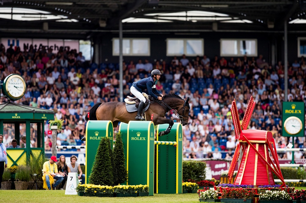 Rolex Grand Slam of Show Jumping Continues with Thrills at CHIO Aachen